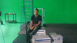 Julia in Green Screen Studio